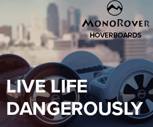 Monorover Hoverboards